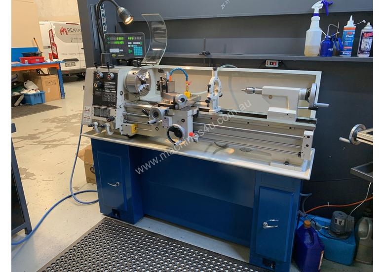 Hafco Metalmaster AL-960B Lathe with DSRO and cabinet stand