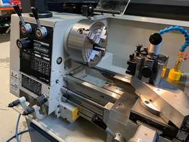 Hafco Metalmaster AL-960B Lathe with DSRO and cabinet stand - picture1' - Click to enlarge