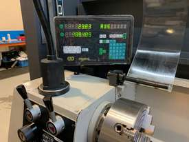 Hafco Metalmaster AL-960B Lathe with DSRO and cabinet stand - picture2' - Click to enlarge