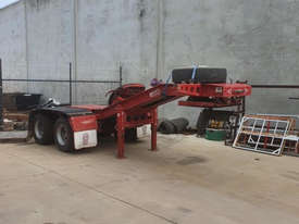 2008 Lusty Quad Axle Low Loader with a Lusty 2 axle Dolly. - picture1' - Click to enlarge