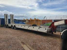 2008 Lusty Quad Axle Low Loader with a Lusty 2 axle Dolly. - picture0' - Click to enlarge