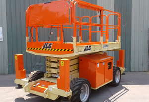 AVAILABLE NOW!  JLG 260MRT 4WD Rough terrain - With 10 year Re Certification