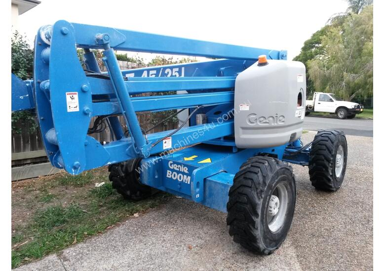 06 /2012 Genie Z45/25J RT - 4 Wheel Drive Diesel Knuckle Boom - With Generator