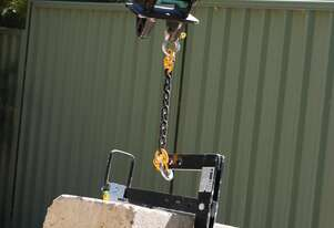 Limestone Block Lifters for Hire - Perth