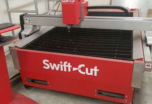 SWIFTCUT 2500WT MK4 CNC PLASMA with Hypertherm Powermax 105 plus Air Dryer and 42 CFM Compressor