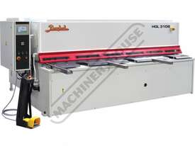 HGL-3108 Hydraulic NC Guillotine 3060 x 8mm Mild Steel Shearing Capacity 1-Axis NC Cybelec Cybtouch  - picture0' - Click to enlarge