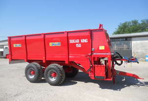 SUGAR KING 3 Bed spreader Compost/Manure/Millmud