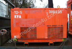 12.5kva single phase , 4cyl kubota ,