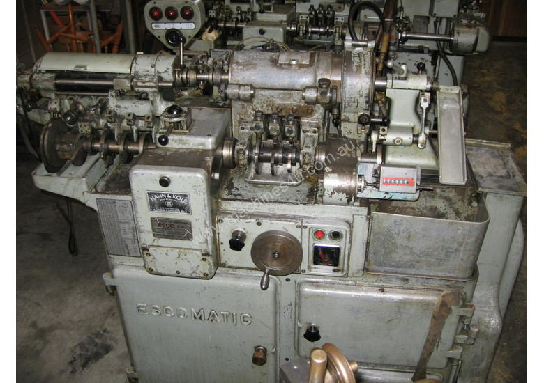 D6 Escomatic Swiss type machine