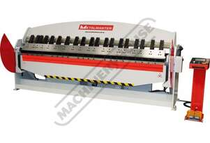 PB-1030T Hydraulic NC Panbrake - Ezy Touch Screen Control 3050 x 3.2mm Mild Steel Bending Capacity