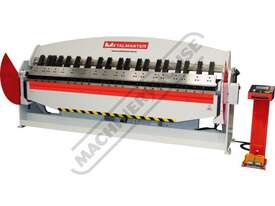 PB-1030T Hydraulic NC Panbrake - Ezy Touch Screen Control 3050 x 3.2mm Mild Steel Bending Capacity - picture0' - Click to enlarge