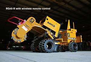 Brand New Rayco RG45R Stump Grinder