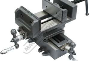 V1204 Compound Drill Vice 105mm Jaw Width 100mm Jaw Opening