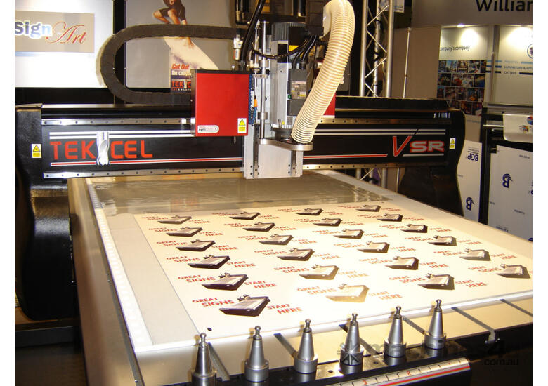 Tekcel CNC Router Opticut -Knife - Australian Made