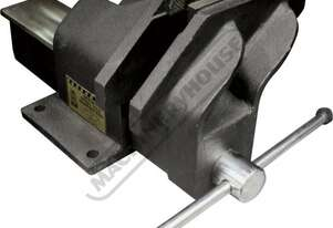 OFV6S Steel Offset Fabricated Bench Vice - Right Hand 152mm Jaw Width 178mm Jaw Opening