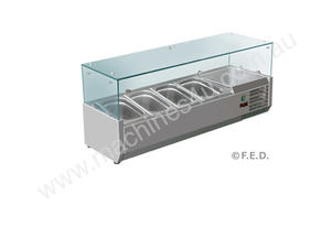 F.E.D. VRX1200/380 DELUXE Pizza / Sandwich Bar Prep Top - 1200mm