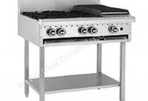 Grill and Shelf - Luus Model BCH2B6P-2 Burners