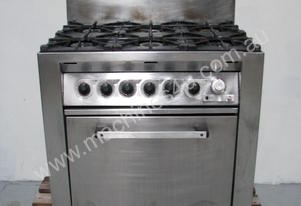 Commercial Stainless Steel 6 Burner Stove and Oven