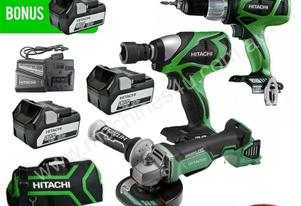 HITACHI KC18DRBL 18V 5.0AH LI-ION BRUSHLESS CORDLE