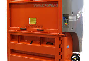 ORWAK Power 3620 | Baler and Compactor | EXTRA STRENGTH