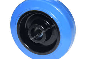 52051 - 125MM BLUE ELASTIC RUBBER WHEELS