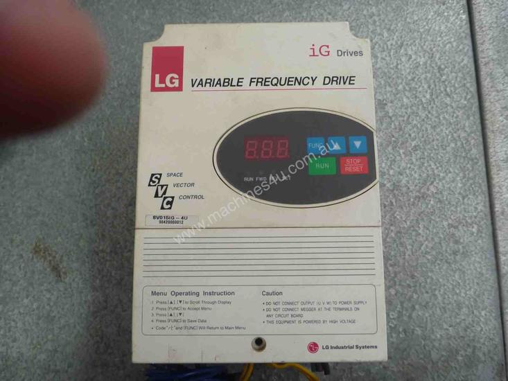 LG VARIABLE SPEED ELECTRIC MOTOR CONTROLLER