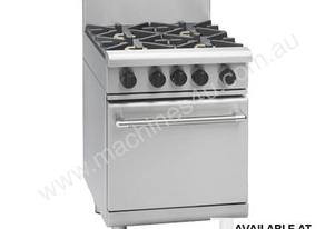 600mm Gas Range Static Oven Low Back Version