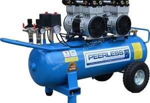 Peerless Oilless Twin Pump 25, 350LPM