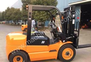 Agrison Forklift + 3.0T + 3 Stage Container Mast +