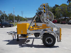 REDMOND GARY 3.0 Tonne Self Loading Cable Drum Trailer - picture1' - Click to enlarge