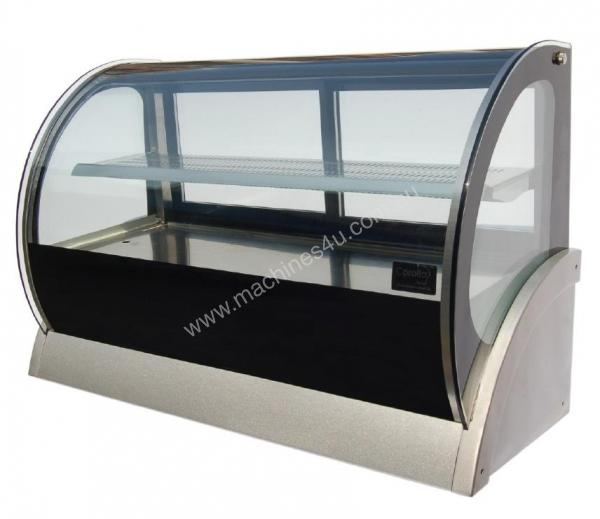 DGC0550 1500mm Countertop curved showcase