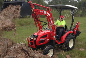 Branson 2900 - 28HP Sub Compact Tractor with 4 in 1 loader