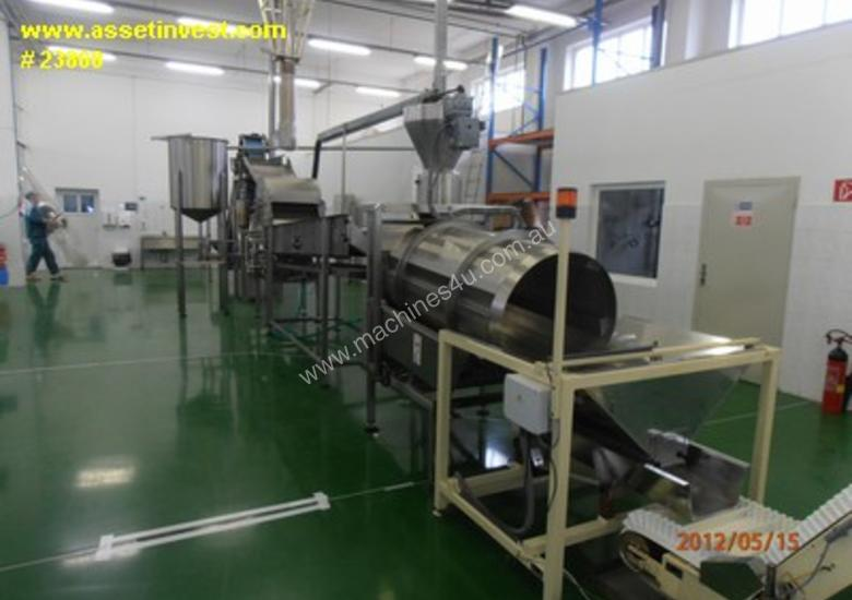 Used Ppm Snack Food Pellet Fry Line Automatic Frying ...