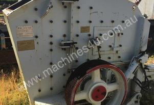 Impact Crusher KEFID model PFW1214-3 with 132kw motor