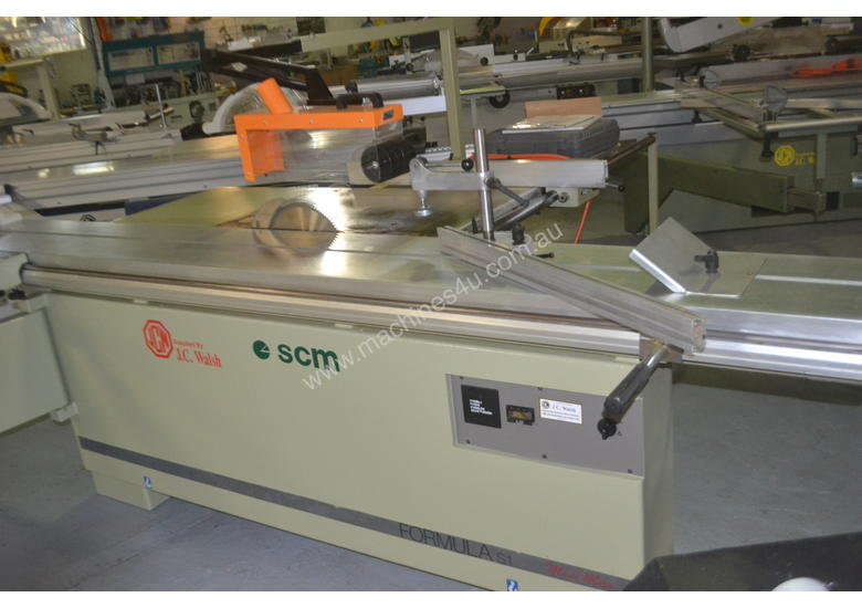 Used Scm Mini Max Panel Saw for sale - 3 metre tilt panel saw , 3 ...