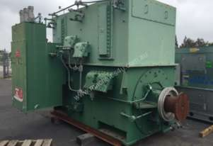 9300 kw 4 pole 6.6kv Toshiba AC Electric Motor