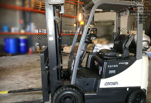 Crown CG18S-5 Forklift, only 1200hrs. EMUS NQ