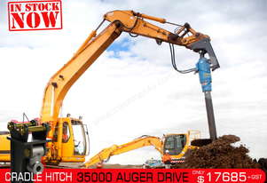 35000 MAX Auger Drive Unit. Suit 17 - 45 T Excavators ATTAGT