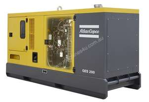 Atlas Copco Prime Fixed Generator QES 200 Temporary Power Generator