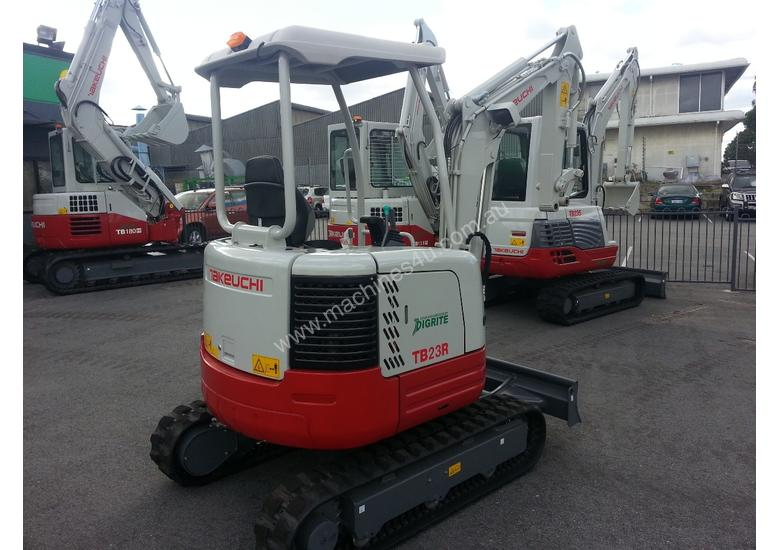 NEW : 2.4T MINI EXCAVATOR FOR SHORT AND LONG TERM DRY HIRE