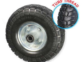 52101 - 260MM PU RUBBER FOAM FILLED PUNCTURE PROOF OFFSET WHEEL - picture0' - Click to enlarge