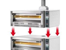 CUPPONE - Superimposable single chamber Gas oven - picture0' - Click to enlarge