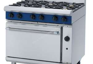 Blue Seal Evolution Series G506D - 900mm Gas Range Static Oven
