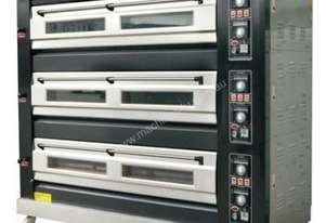 Amalfi Electric Three Deck Oven - 9 Trays