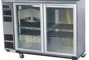Skope BB380 2SW BackBar Series Two Swing Doors Bench Fridge - 1500mm