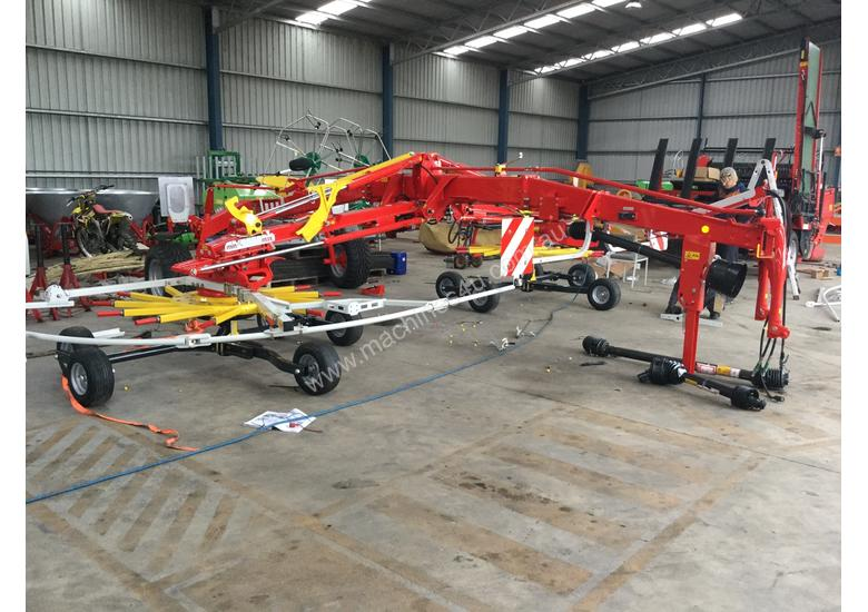 Pottinger TOP 842C Rakes Tedder Hay Forage Equip