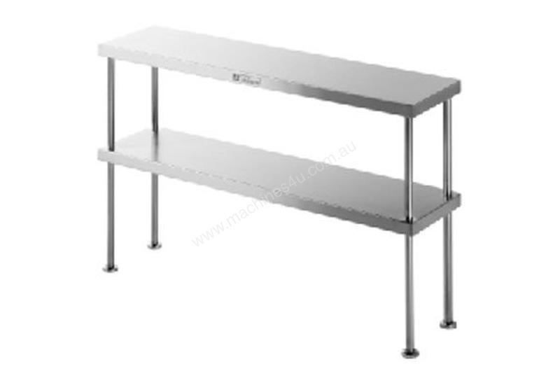 Simply Stainless SS13.1800 Double Tier Bench Over-Shelf - 1800mm