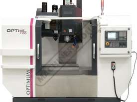 F210TC OPTi-Mill Optimum CNC Milling Machine (X) 850mm (Y) 500mm (Z) 600mm - picture3' - Click to enlarge