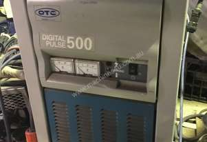 OTC Daihen DP-500 with water cooled TIG