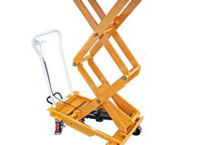 BS80D - HYDRAULIC DOUBLE SCISSOR LIFT TABLE